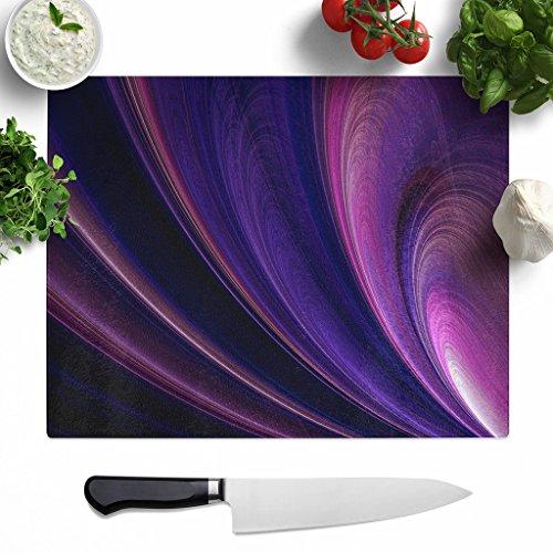 big-box-art-large-glass-chopping-board-39-x-29-cm-purple-abstract-art-1-multicolour