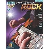 Progressive rock guitare +cd: Guitar Play-Along Volume 120 (Hal Leonard Guitar Play-Along)