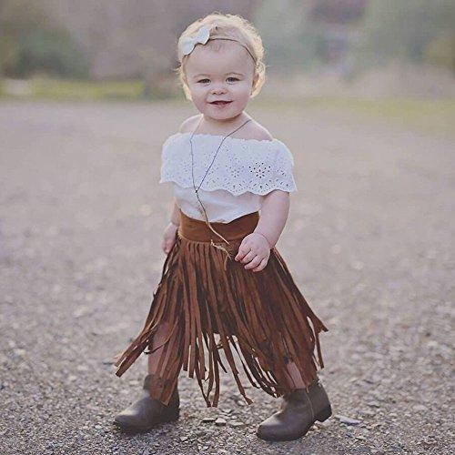 Mädchen Bowknot Spitze Prinzessin Rock Sommer Pailletten Kleider für Baby Kleinkinder Kinder 0-5 Jahre HEVÜY (Halloween-kürbis-schnitzen Babys 1)