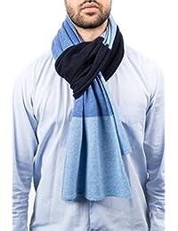 Dalle Piane Cashmere - 3 colors scarf 100% cashmere -Man