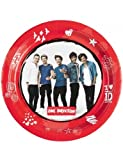 Amscan 23 cm One Direction Pappteller