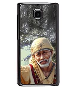 PrintVisa Designer Back Case Cover for Xiaomi Redmi 1S :: Xiaomi Hongmi 1S (Aum Om Bhagwan Blessings )