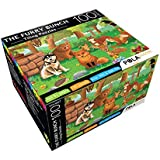 Pola Puzzles The Furry Bunch Tiling Puzzles 100 Pieces For Kids Age 5 Years And Above Multi Color Size 36CM X 34CM Jigsaw Puzzles For Kids