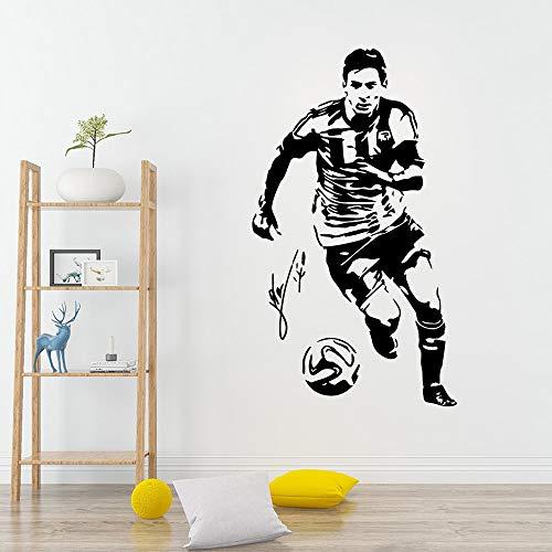 Ajcwhml Klassische Athlet Vinyl Aufkleber Wandtattoo für Kinderzimmer Wohnzimmer Wohnkultur für Kinderzimmer
