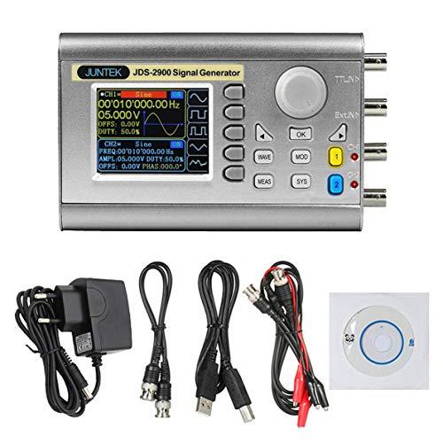 Noradtjcca 30 MHz Signalgenerator Digitalsteuerung Zweikanal-DDS-Funktionssignalgenerator Frequenzmesser Arbitrary Wave