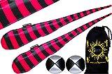 Flames N Games FUNKY® Pro Socken-Poi (JAIL-GIRL) Sock Poi Set inkl. 2x Beanbags Bälle & Reisetasche. Swinging Poi und Spinning Pois! Pois für Anfänger und Profis.