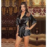 AILIN1 Body de Encaje Sexy Señoras Sexy Pijama de Encaje sin Espalda de  Cuello en V df006723dfca0