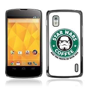 CaseLord Cas Coq Case Cover LG GOOGLE NEXUS 4 ( SW Coffee )