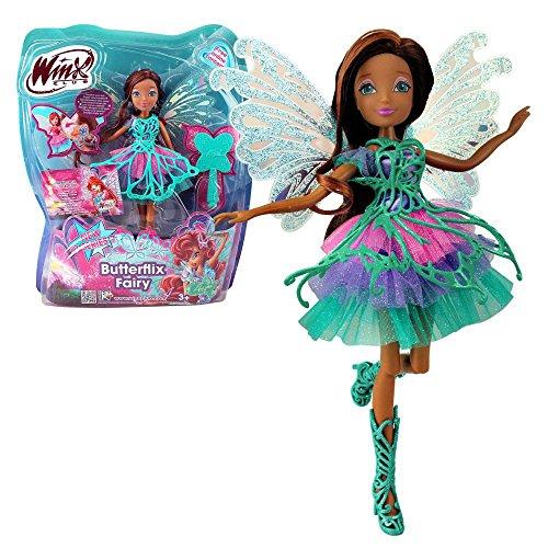 Winx Club - Butterflix Fairy - Hada Layla Aisha Muñeca 28cm...