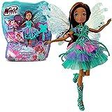 Winx Club - Butterflix Fairy - Hada Layla Aisha Muñeca 28cm con Magia Robe