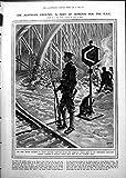 Cammuffamento del Mare del Tirolo dell'Austriaco del Ponte Ferroviario della Guardia di Hac della Stampa 1919 019RP254