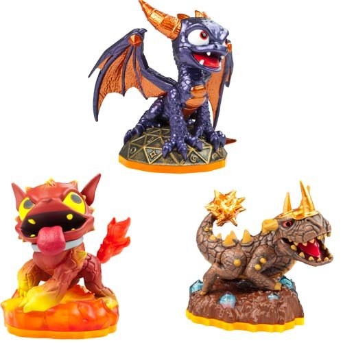 Triple Pack H: Hot Dog, Spyro, Bash (Blizzard Bash)
