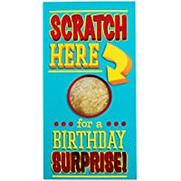 Hallmark Birthday Card Scratch Here Surprise - Medium Slim