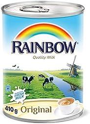 Rainbow Original Easy Open Vitamin D Evaporated Liquid Milk - 410 gm