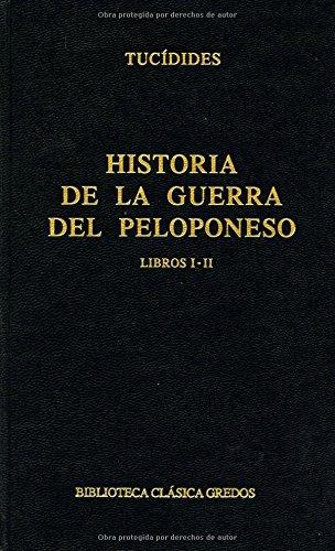 Descargar Libro Historia guerra peloponeso libros i-ii (B. CLÁSICA GREDOS) de Tucidides
