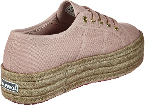Superga 2790-Cotropew, Sneaker Donna Pink (Rose Mahogany)