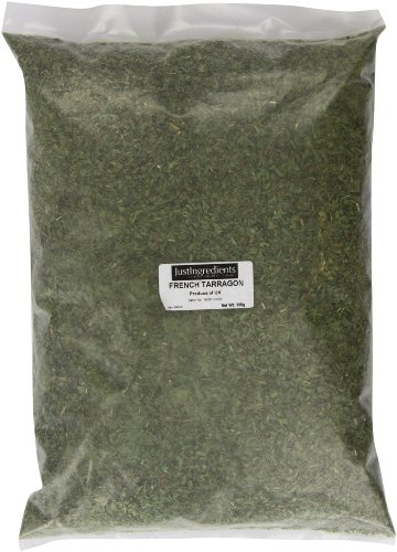 JustIngredients Französischer Estragon, French Tarragon, 1er Pack (1 x 500 g)