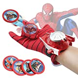 #2: SHOPEE BRANDED Spiderman Gloves With Disc Launcher For Real Action - Red