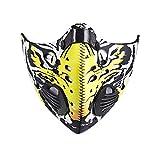 Skysper Masque Anti-poussière pour Sport Moto Vélo Avec Soupape PM2.5
