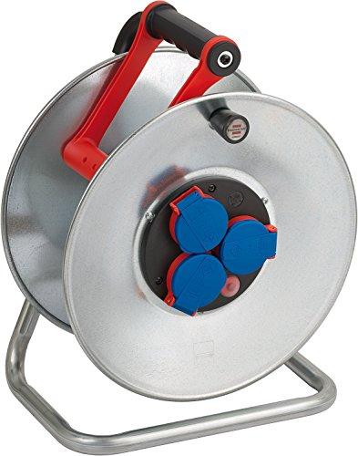 Brennenstuhl 1198310 Garant S 4 - Carrete alargador de cable (sin cable, IP 44)