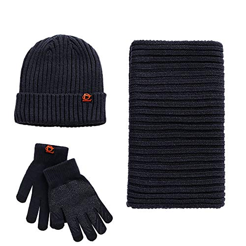 Saihui_Scarf / Hat / Glove - Set de Bufanda