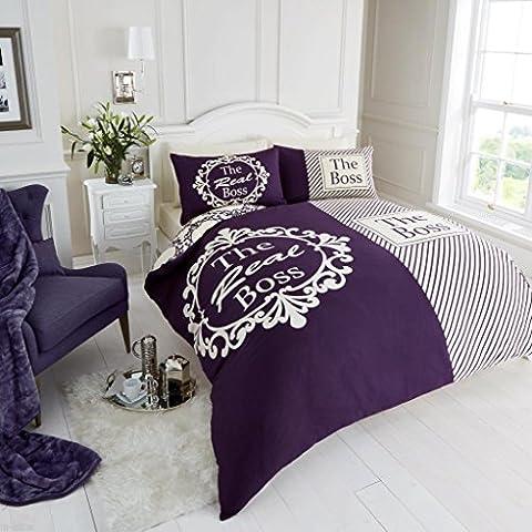 Set Copripiumino con federe nuovo letto in