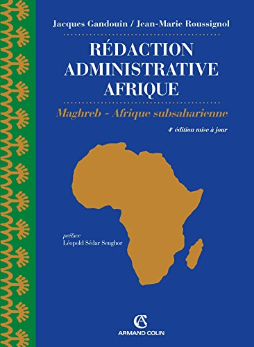 Rdaction administrative Afrique (export) - 4e d. - Maghreb - Afrique Subsaharienne