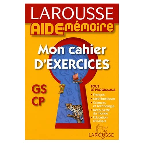 Mon cahier d'exercices GS/CP