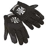 West Coast Choppers Handschuhe Riding Gloves Pay Up Sucker, Größe:M, Farbe:black