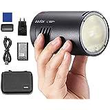 Godox AD100Pro 100W Flash 2.4G HSS 1 / 8000s Pocket Round Monolight con batería de 2600mAh Compatible para Canon Sony Nikon F