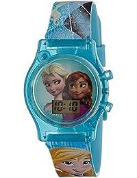 Disney Digital Multi-Colour Dial Girl's Watch - DW100477