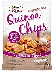 Eat Real Quinoa Chips Sundried Tomato y Roasted Garlic - 80 gr