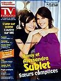NOUVELLE REPUBLIQUE (LA) du 29/07/2007 - ROMY ET ALESSANDRA SUBLET - SOEURS COMPLICES - TSUNAMI - LA FICTION REALITE - TOURNAGE - ALICE ET CHARLIE - NICOLAT HULOT - LE MEKONG - FOOT - YANNICK NOAH - LES SPORT DE GLISSE - CUISINE