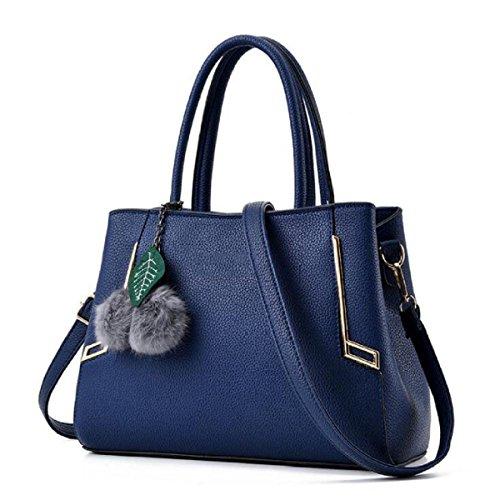 Borse A Tracolla Alla Moda Donna MYLL Borsa A Tracolla Messenger Bag,LightGray DarkBlue