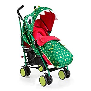 Cosatto Supa 2018 Baby Stroller, Suitable from Birth to 25 kg, Dino Mighty   11
