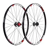 Ruedas Progress JGO XCD-1 29 9/15x100 y 9x135 Shimano Negro/Roja