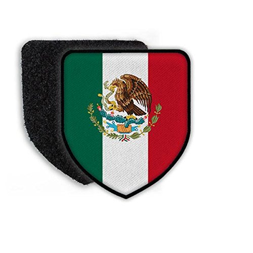 Patch Mexiko Adler Landeswappen Eichenlaub Flagge Schlange Peso Wappen Wappenzeichen Landesflagge#21934 (Peso Mexiko)