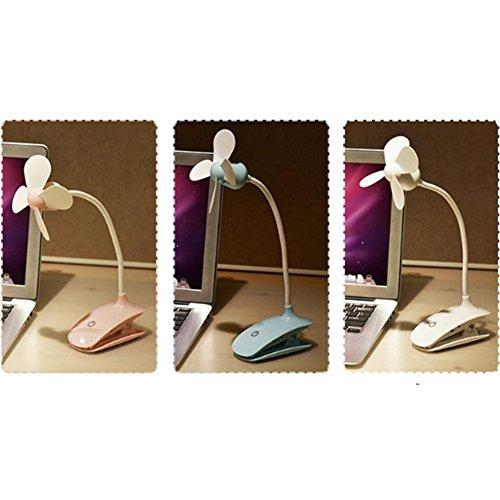 Ventilator | Tischventilator | Standventilator 180° Rotation | Lüfter | Luftkühler | Desk Fan | Fan | 180° Oszillierend | Tischventilatoren , black