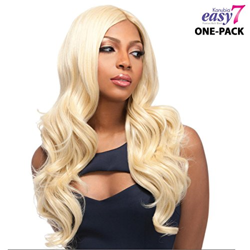 6 mèches Pack complet + Closure sensationnel Easy 7 kanubia – venezu Elan – One Pack Solution Weave tressen Futura fibre