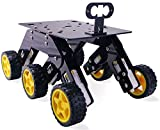 #5: 6 Wheel Drive Curious Chassis for DIY Robotics