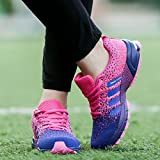 Laufschuhe Herren Damen Leicht Wanderschuhe Gute Qualität Sneaker Rosa 35