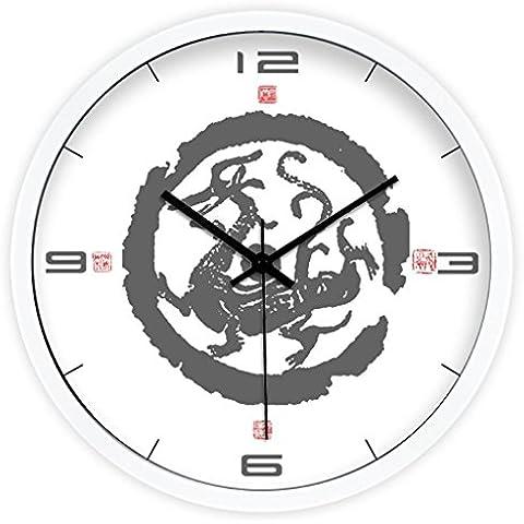 Uncle Sam LI-Creativo stile drago orologio elemento di quarzo cinese - Drago Quarzo Orologio