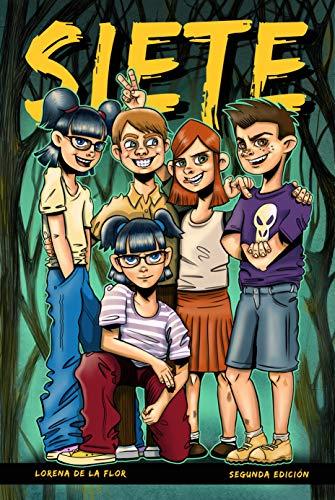 Siete: aventuras para niños a partir de 8 años eBook: de la Flor ...