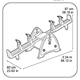 Feber - Wippe Klettergeräte und Schaukeln