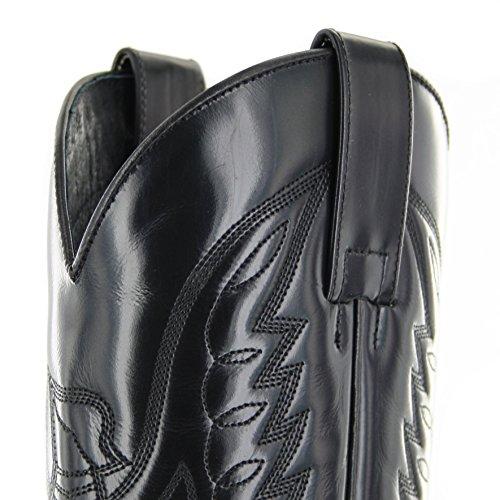 Sendra Boots 13170, Stivali uomo Marrone marrone Multicolore (Negro Cherry)