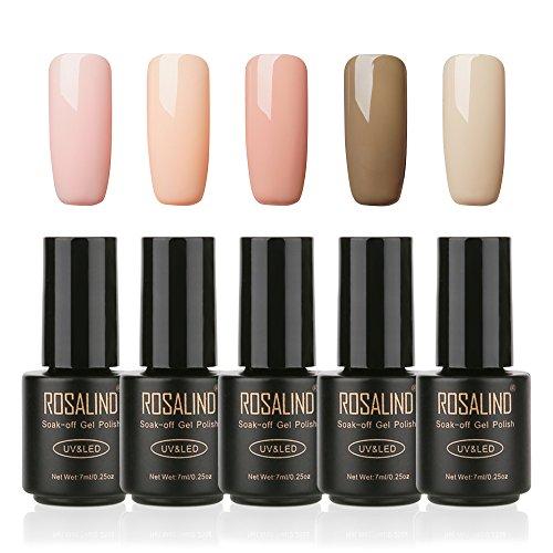ROSALIND Serie colores desnudos Esmalte semipermanente