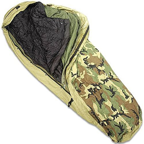 Military Modular Sleep System 4 Piece with Goretex Bivy Cover and Carry Sack by Tennier Gore-tex ® - Systeme
