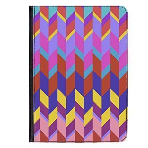 "Preisvergleich Produktbild 'Retro Shapes' Hülle für Universal Tablet 7"" PU Leather Flip Case Cover by Amanda Isobel"