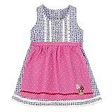 BONDI Dirndl Babydirndl Mädchenkleid Artnr. 86005 Blau/Weiss Gr. 68