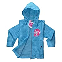 Official My Little Pony Licensed Waterproof Rain Jacket Coat for girls | Main Picture to Illustrate Different Styles
